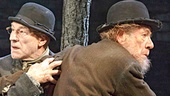 Patrick Stewart as Vladimir & Ian McKellen as Estragon in Waiting For Godot