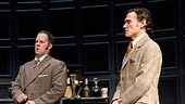 Patrick Stewart as Hirst, Ian McKellen as Spooner, Shuler Hensley as Briggs & Billy Crudup as Foster in No Man's Land