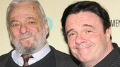 Nathan Lane, who collaborated with Sondheim on The Frogs and memorably starred in his A Funny Thing Happened on the Way to the Forum, congratulates the legendary composer.