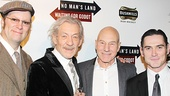Waiting For Godot – Opening Night – Shuler Hensley – Ian McKellen – Patrick Stewart – Billy Crudup