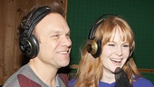 Two-time Tony winner Norbert Leo Butz and Kate Baldwin share a laugh.