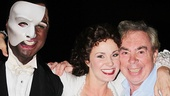 Norm Lewis, Sierra Boggess and Andrew Lloyd Webber.