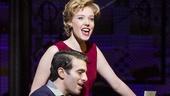 Jessica Keenan Wynn as Cynthia Weil, Jarrod Spector as Barry Mann in Beautiful: The Carole King Musical