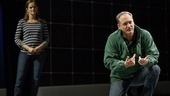 Enid Graham as Judy and Andrew Long as Ed in The Curious Incident of the Dog in the Night