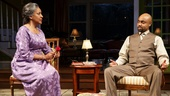 Phylicia Rashad as Shelah and Francois Battiste as Aubrey in Head of Passes.