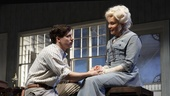 John Gallagher Jr. as Edmond Tyrone and Jessica Lange as Mary Tyrone in Long Day's Journey Into Night.