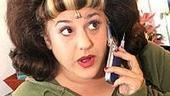 Marissa Jaret Winokur Back at Hairspray - cell phone