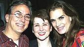 Brooke Shields Chicago Farewell Party - Rob Fisher - Leslie Stifelman - Brooke Shields