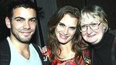 Brooke Shields Chicago Farewell Party - Matthew Risch - Brooke Shields - assistant Paula