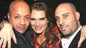 Brooke Shields Chicago Farewell Party - Mikey G - Brooke Shields - Carmine Lucariello