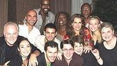 Brooke Shields Chicago Farewell Party - Group