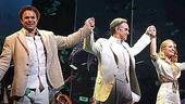 Dirty Rotten Scoundrels new cast opening - curtain call - Norbert Leo Butz - Jonathan Pryce - Rachel York