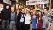 Meet the current stars of Mamma Mia!: Patrick Boll, John Dossett, Gina Ferrall, Clark Thorell, Lisa Brescia, Judy McLane, Liana Hunt and Corey Greenan.