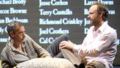 Joe Mantello as Ned Weeks and John Benjamin Hickey as Felix Turner in The Normal Heart.