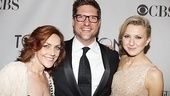 2011 Tony Awards Red Carpet – Andrea McArdle - Christopher Sieber - Nina Arianda