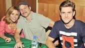 Catch Me If You Can CD Signing – Kerry Butler – Norbert Leo Butz – Aaron Tveit