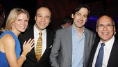 <i>Follies</i> opening night – Kelli O'Hara – Danny Burstein – Greg Naughton – Don Correia