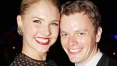 <i>Follies</i> opening night – Amanda Kloots-Larsen – David Larsen