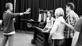 <i>Bonnie & Clyde</i> Rehearsal -  Steve Rankin – Laura Osnes