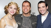 Perez Hilton at <i>Anything Goes</i> - Sutton Foster – Perez Hilton – Colin Donnell
