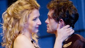 Nina Arianda as Vanda and Hugh Dancy as Thomas in Venus in Fur.