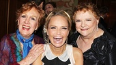 """Chenoweth gets between esteemed former co-stars Marni Nixon (who performed """"The Song Is You"""" from Music in the Air) and Carole Shelley (Wicked's original Madame Morrible)."""