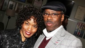 Angela Bassett Visits Clybourne Park – Angela Bassett – Courtney B. Vance