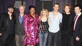 Ghost First Broadway Preview - Dave Stewart – Bruce Joel Rubin -I Da'Vine Joy Randolph – Caissie Levy – Richard Fleeshman – Glen Ballard – Bryce Pinkham