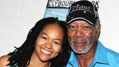Morgan Freeman at Clybourne Park – Crystal A. Dickinson – Morgan Freeman