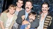 Stephen Colbert at Starcatcher – Celia Keenan-Bolger - Adam Chanler-Berat - Stephen Colbert - John Colbert - Matthew Saldivar