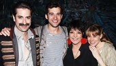 Liza Minnelli and more at Peter and the Starcatcher – Matthew Saldivar – Adam Chanler-Berat – Liza Minnelli – Celia Keenan-Bolger