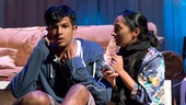 Utkarsh Ambudkar and Nitya Vidyasagar in Modern Terrorism.