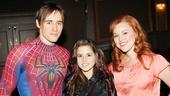 Carly Rose Sonenclar visits 'Spider-Man' - Reeve Carney - Carly Rose Sonenclar - Rebecca Faulkenberry