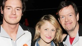 Benjamin Walker hangs out with Mamie Gummer and Dylan Baker.