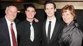 'Breakfast at Tiffany's' Opening — Cory Michael Smith and family