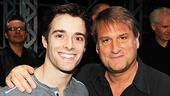Newsies' leading man Corey Cott and director Jeff Calhoun send a big hello to the fansies.