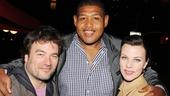 'The Big Knife' Opening — Jonathan Dinklage — Omar Benson Miller — Debi Mazar