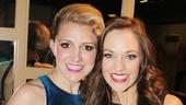 2013 Tony Nominee Brunch — Annaleigh Ashford — Laura Osnes
