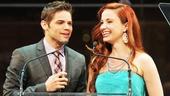 2013 Audience Choice Awards Ceremony — Jeremy Jordan — Sierra Boggess