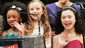 2013 Audience Choice Awards Ceremony — Arielle Tepper Madover — Tyrah Skye Odoms — Emily Rosenfeld —Katie Finneran — Lilla Crawford — Bill Berloni