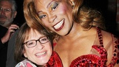 Broadway legend Patti LuPone gives a squeeze to Kinky leading man Billy Porter.