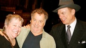 Courtney B. Vance Backstage at 'Lucky Guy' — Kathy Bates — Peter Gerety — Christopher McDonald