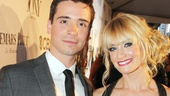 Tony Red Carpet- Matt Doyle- Beth Behrs