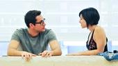 'First Date' Rehearsal — Zachary Levi — Krysta Rodriguez
