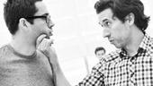 'First Date' Rehearsal — Zachary Levi — Josh Rhodes