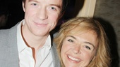 Matthew James Thomas and his onstage love interest Rachel Bay Jones have great chemistry on and offstage.