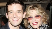 Look who's here! Buyer & Cellar headliner Michael Urie happily welcomes Tony-nominated stage and screen superstar Jane Fonda.