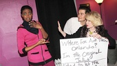 Condola Rashad is surprised to see Joan Rivers trying to make moves on her Romeo (a.k.a. Orlando Bloom).