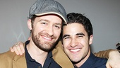 Glee buddy Matthew Morrison is on hand to show support for Darren Criss.