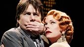 Zach Braff as David Shayne & Marin Mazzie as Helen Sinclair in Bullets Over Broadway